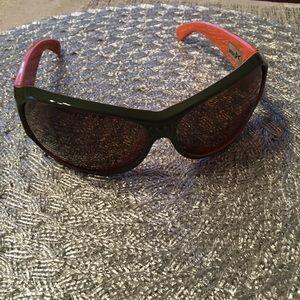 Anon Sunglasses in GUC!  Rufus Military Gr/Orange.
